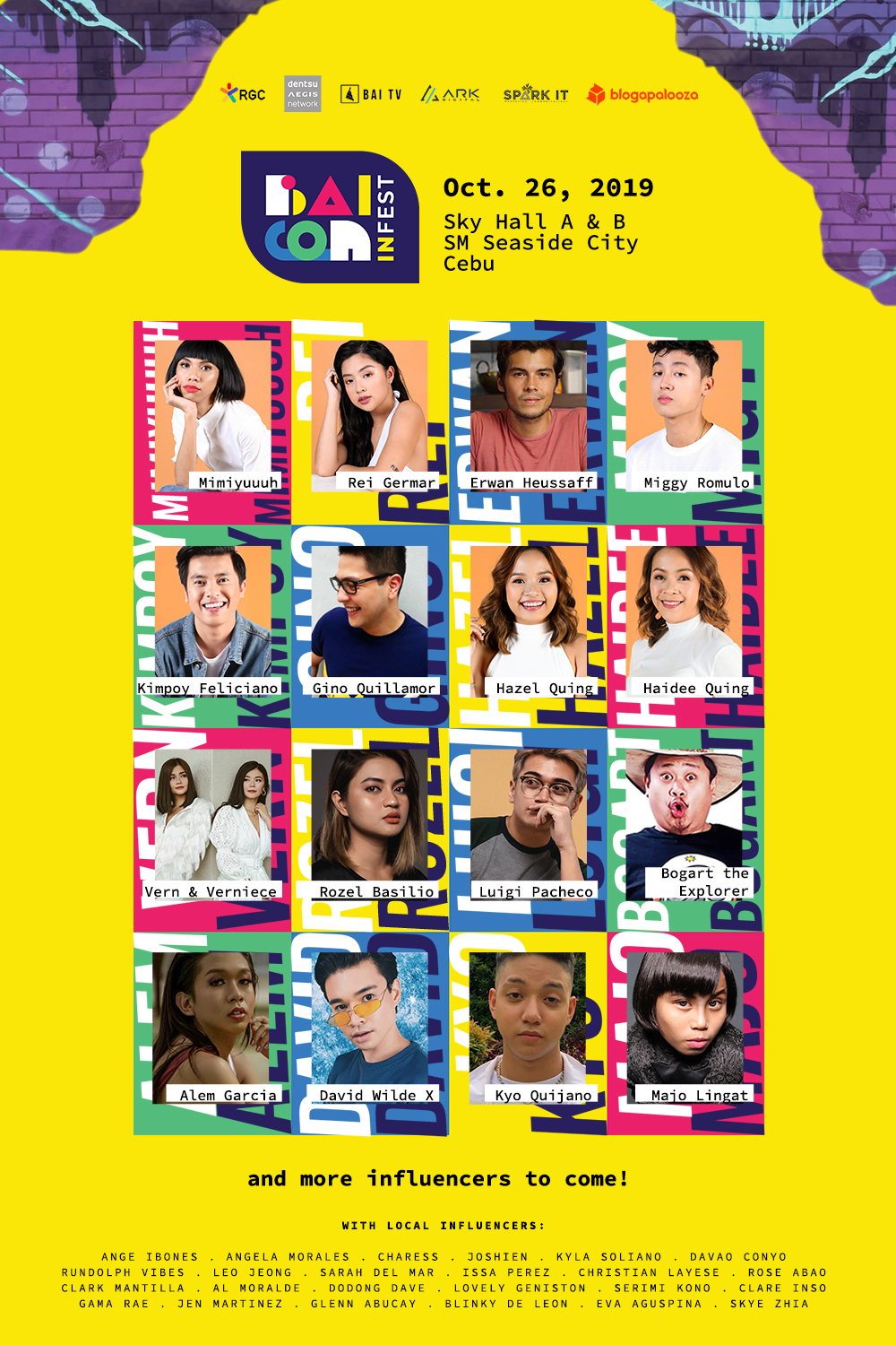 BaiCon Infest 2019: The Biggest Gathering of Content Creators in the Philippines