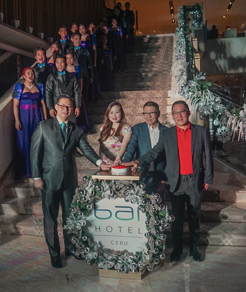 A Glistening Night at bai Hotel Cebu's Grand Christmas Tree Lighting and Appreciation Night