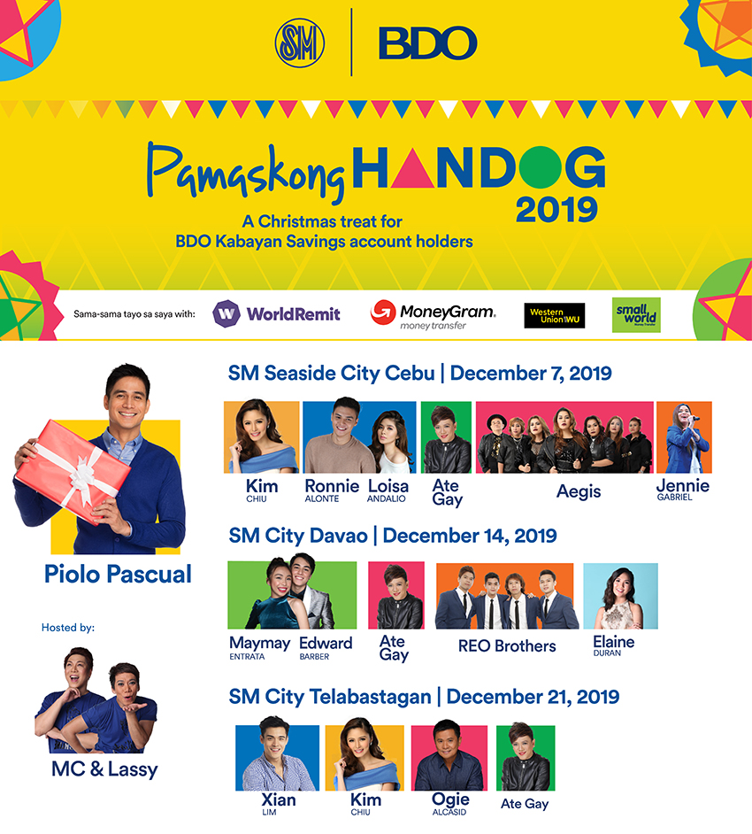 BDO Remit Hosted Pamaskong Handog in Cebu